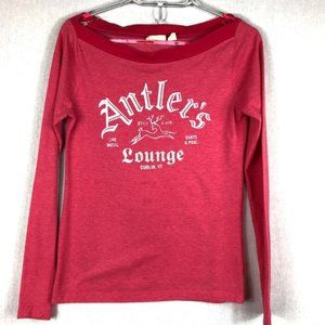American Eagle Outfitters Pink Tee Shirt Medium